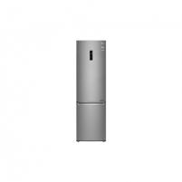 Šaldytuvas LG Refrigerator GBB72SADFN Free standing, Combi, Height 203 cm, A+++, No Frost system, Fridge net capacity 277 L, Freezer net capacity 107 L, Display, 36 dB, Stainless steel Šaldytuvai ir šaldikliai