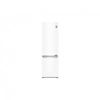 Šaldytuvas LG Refrigerator GBB72SWEFN Free standing, Combi, Height 203 cm, A+++, No Frost system, Fridge net capacity 292 L, Freezer net capacity 127 L, Display, 36 dB, Super White Šaldytuvai ir šaldikliai