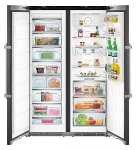 Refrigerator-šaldiklis LIEBHERR SBSbs 8673