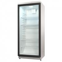 Šaldytuvas Snaige CD290-1008-02SNJ0 Free standing, Showcase, Height 145 cm, Fridge net capacity 275 L, 43 dB, White Šaldytuvai ir šaldikliai