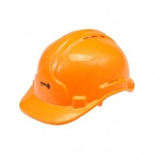 Šalmas apsauginis oranžinis (MEI74194) Darbu ķiveres