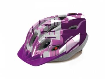 Šalmas B-Skin Tomcat violet