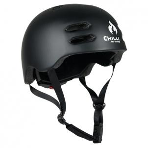 Šalmas Chilli inmold helmet 53x55cm black size S Velosipēdu un rullīšu aizsargi