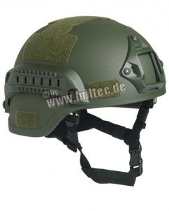 Šalmas US ARMY reprodukcija M.I.C.H. 2000 W/RAIL OLIV