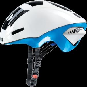 Šalmas Uvex EDAero white-blue