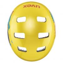 Šalmas Uvex Kid 3 yellow 55-58CM