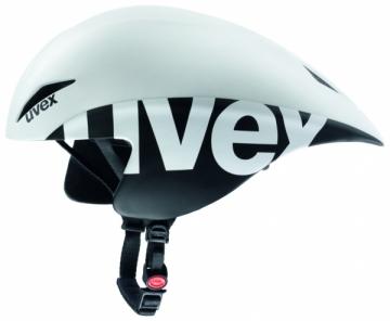 Šalmas Uvex Race 2 Pro white-black mat