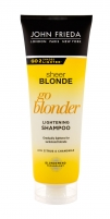 Šampūnas John Frieda Sheer Blonde Go Blonder Shampoo 250ml Šampūnai plaukams