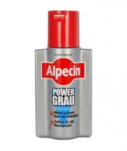 Šampūnas plaukams Alpecin PowerGrey Shampoo Cosmetic 200ml Šampūnai plaukams