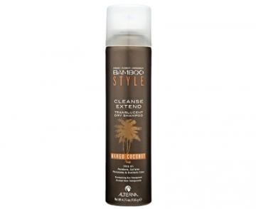 Šampūnas plaukams Alterna Dry hair shampoo with the scent of mango and coconut Bamboo style (Cleanse Extend Translucent Dry Shampoo - Mango Coconut) 150 ml - 150 ml Šampūnai plaukams