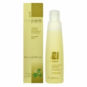 Frais Monde Purifying Balancing Plant-Based Shampoo Cosmetic 200ml Šampūnus, matu
