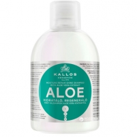 Kallos Aloe Vera Moisture Repair Shine Shampoo Cosmetic 1000ml Шампуни для волос