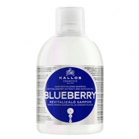 Kallos Blueberry Hair Shampoo Cosmetic 1000ml Шампуни для волос