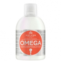 Šampūnas plaukams Kallos Omega Hair Shampoo Cosmetic 1000ml Šampūnai plaukams