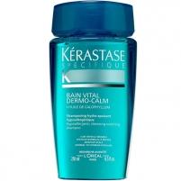 Šampūnas plaukams Kérastase Bain Vital Dermo-Calm (Hypoallergenic Hydra-Soothing Shampoo) 250ml Šampūnai plaukams