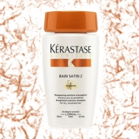 Šampūnas plaukams Kerastase Nutritive Bain Satin 2 Irisome Dry Sensitised Hair Cosmetic 250ml Šampūnai plaukams