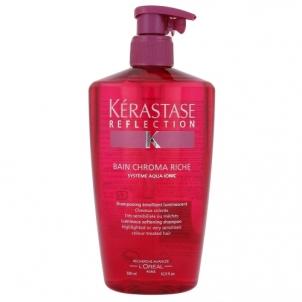 Šampūnas plaukams Kerastase Reflection Bain Chroma Riche Luminous Soft Shampoo Cosmetic 500ml Šampūnai plaukams