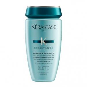 Šampūnas plaukams Kerastase Resistance Bain De Force Architecte Cosmetic 250ml Šampūnai plaukams