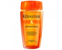 Šampūnas plaukams Kérastase Smoothing shampoo for dry and unruly hair Bain Oleo-Relax (Smoothing Shampoo) - 1000 ml