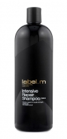 Šampūnas plaukams Label m Intensive Repair Shampoo Cosmetic 1000ml Šampūnai plaukams