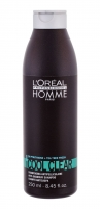 Šampūnas plaukams L´Oreal Paris Homme Cool Clear Shampoo Cosmetic 250ml Šampūnai plaukams