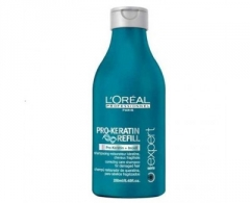 Šampūnas plaukams Loreal Professionnel Keratin shampoo for damaged hair Pro-Keratin Refill (Correcting Care Shampoo) 500 ml Šampūnai plaukams