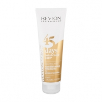 Šampūnas plaukams Revlon Revlonissimo 45 Days 2in1 For Golden Blondes Cosmetic 275ml