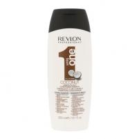 Šampūnas plaukams Revlon Uniq One Coconut Conditioning Shampoo Cosmetic 300ml Šampūnai plaukams