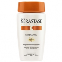 Šamp?nas Kérastase Bain Satin 2 Irisome Exceptional Nutrition Shampoo 250ml Шампуни для волос