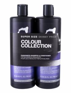 Šampūnas plaukams Tigi Catwalk Fashionista Violet Shampoo Cosmetic 1500ml Šampūnai plaukams