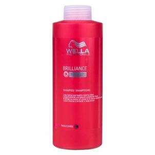 Wella Brilliance Shampoo Thick Hair Cosmetic 1000ml