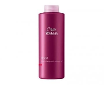 Šampūnas plaukams Wella Professional Strengthening shampoo for weak and stressed hair ( Resist Strengthening Shampoo) 1000 ml Šampūnai plaukams