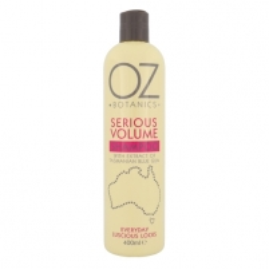 Šampūnas plaukams Xpel OZ Botanics Serious Volume Shampoo Cosmetic 400ml Šampūnai plaukams