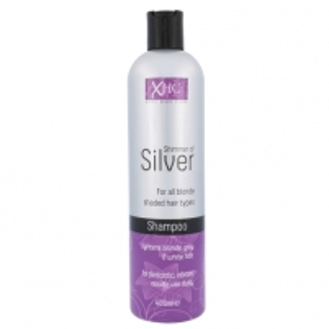 Šampūnas plaukams Xpel Shimmer Of Silver Shampoo Cosmetic 400ml Šampūnai plaukams