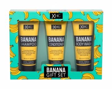 Šampūnas Xpel Banana 100 ml+ kondicionierius + prausimosi gelis 100 ml Šampūnai plaukams