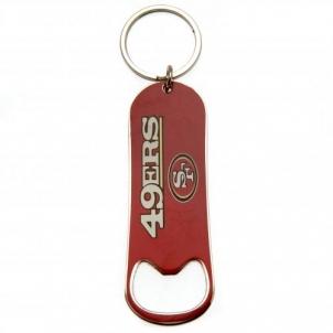 San Francisco 49Ers butelio atidarytuvas - raktų pakabukas