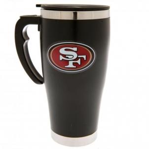 San Francisco 49Ers prabangus kelioninis puodelis