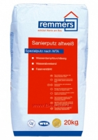 Sanierputz Atlweiss - Restoration plaster white 20 kg Simple plaster blends