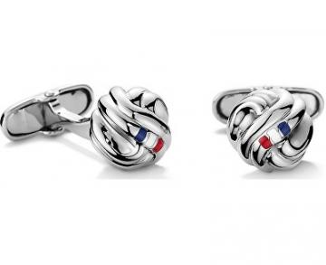 Sąsagos Tommy Hilfiger Steel cufflinks TH2700695 Sąsagos