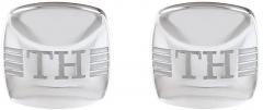 Sąsagos Tommy Hilfiger Steel cufflinks TH2790174 Aproču pogas