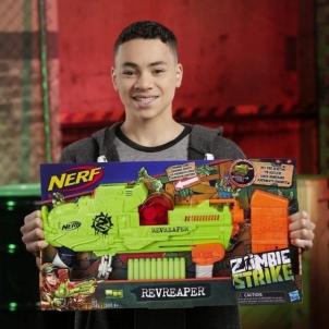 Šaudyklė E0311 Nerf Zombie Strike Revreaper Blaster Fast Firing, No Priming Visible Moving Gears HASBRO