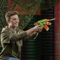 Šaudyklė E6187 NERF Zombie Strike Alternator Blaster - Fires 3 Ways