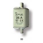 Saugiklis pramoninis peilinis, 160A, WT-00/gG, 500V, ETI 04111140 Industrial fuses