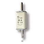 Saugiklis pramoninis peilinis, 50A, WT-1C/gG, 500V, ETI 04113231 Rūpniecības drošinātāji
