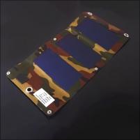 Saulės energijos įkroviklis PowerNeed 3W - USB 5V, 630mA, žalias