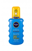 Sun lotion Nivea Sun Protect & Bronze Spray SPF20  Cosmetic    200ml Sun creams
