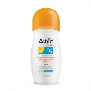 Saulės kremas Astrid Moisturizing lotion spray SPF 15 Sun 200 ml
