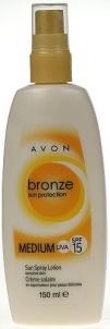 Saulės kremas Avon Bronze Sun Spray Lotion SPF15 Cosmetic 150ml Saulės kremai