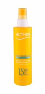 Saulės kremas Biotherm Spray Solaire Lacté Ultra-Light Sun Spray SPF15 Cosmetic 200ml Saulės kremai