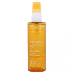 Saulės kremas Clarins Sun Care Spray Oil Free Lotion SPF15 Cosmetic 150ml Saulės kremai